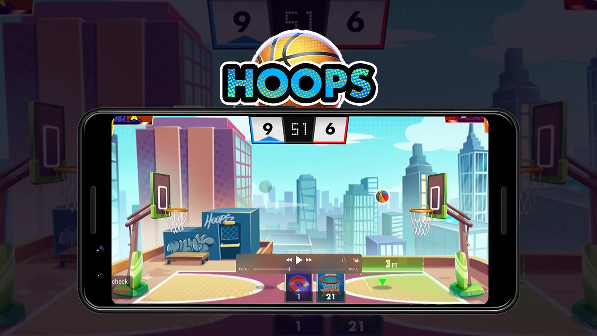 Download basketball hoops game online