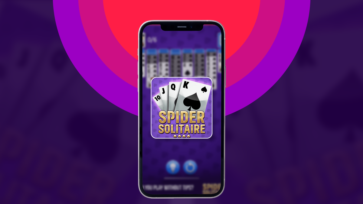 rules of spider solitaire card game